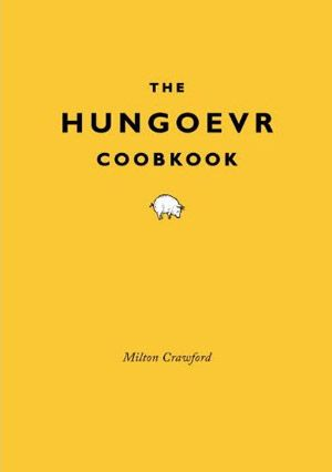 The Hungover Cookbook  Nevermind how you got in this state — if you're truly hungover, all you want to do is make it go away, and The Hungover Cookbook ($8) can help. Inside its cleverly dyslexic cover are classifications of six different types of hangovers with recipes for each, mind games, quizzes to see if you're actually hungover or just still drunk — yes, it happens — and jokes to help ease your shredded mind