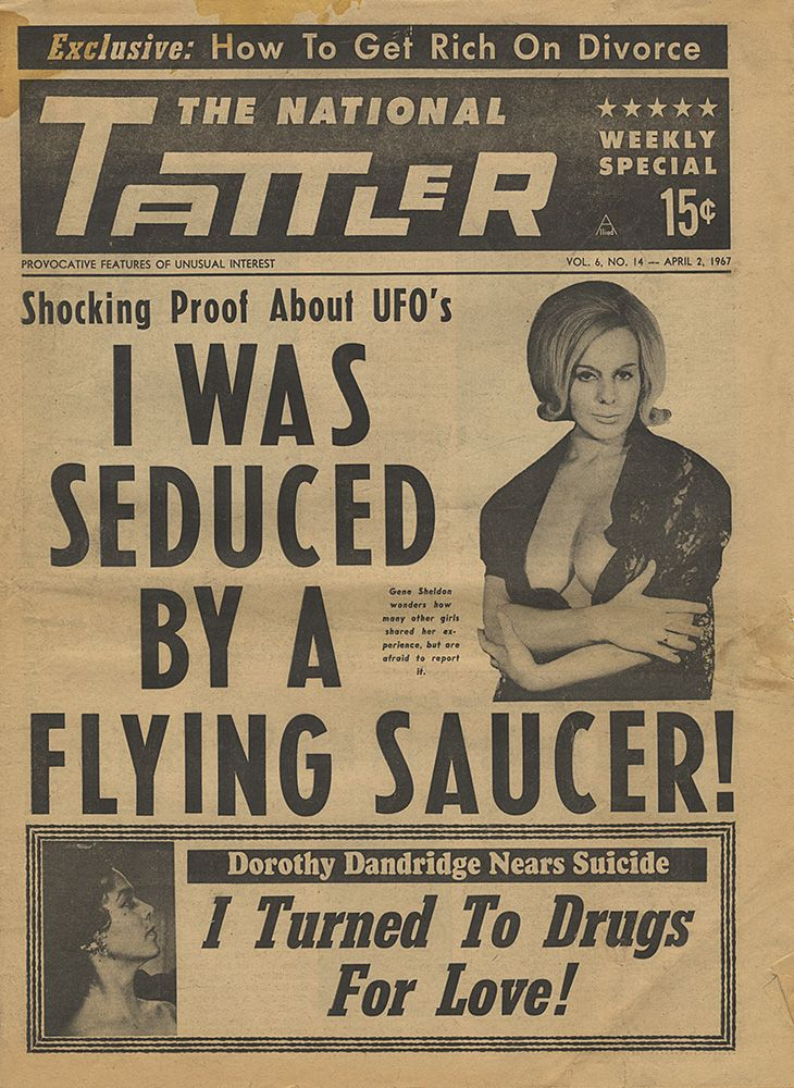 The National Tattler / 1967  Pre Weekly World News