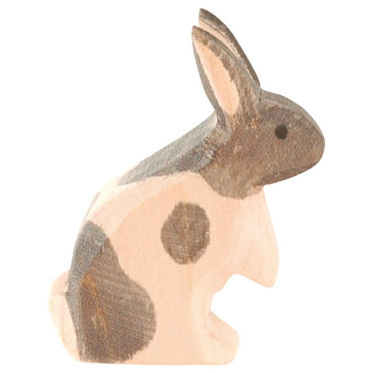 Ostheimer - Rabbit Black and White Standing