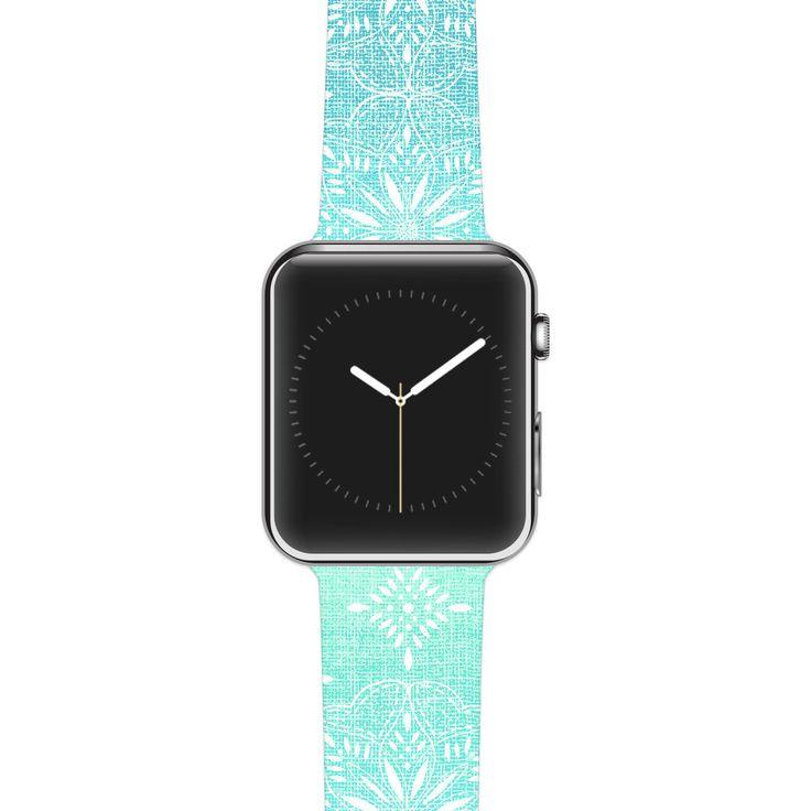 "Apple Watch Band Strap - Suzie Tremel ""Medallion Aqua Ombre"" - Kess inHouse by KessInHouse on Etsy https://www.etsy.com/listing/238951669/apple-watch-band-strap-suzie-tremel"