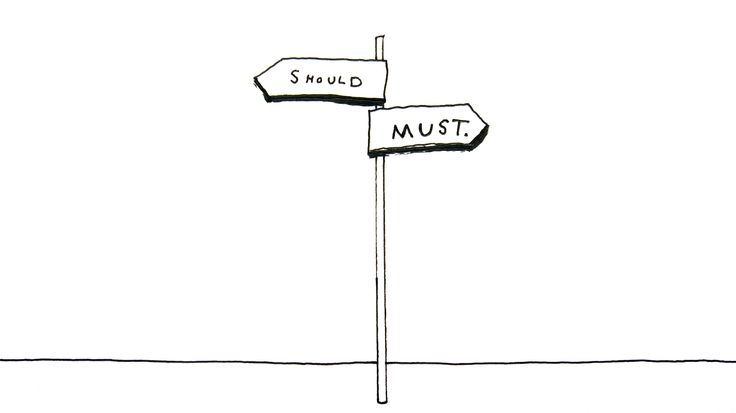The Crossroads of Should and Must  - This is a story about two roads — Should and Must. It's a pep talk for anyone who's chosen Should for far too long — months, years, maybe a lifetime — and feels like it's about time they gave Must a shot