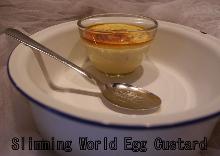 Slimming World Egg Custard: This is one of my favourite puddings as it is light but filling and Syn free if you follow Slimming World!