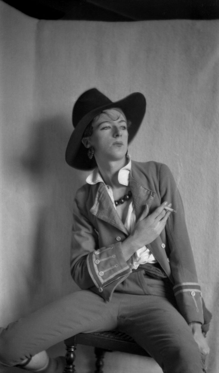 "Exhibition: 'Cecil Beaton at Wilton' at Wilton House, Wiltshire and 'Cecil Beaton at Home: Ashcombe & Reddish', at The Salisbury Museum. ""Frippery and finery taken by that dandy doyen of chic Cecil Beaton."" Dr Marcus Bunyan Photo: Cecil Beaton. 'Cecil Beaton in ""All the Vogue"", Cambridge' 1925"