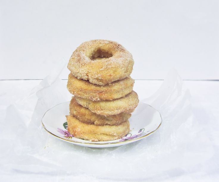 Have you ever wanted to make those baked donuts that are all over the internet, but couldn't because you don't have some fancy donut pan? This tutorial will show you how to make your very own donut pans, so you can fulfill your cinnamon-sugar coated cravings! (the recipe for the donuts is slightly adapted from King Arthur Flour's 'Doughnut Muffins')