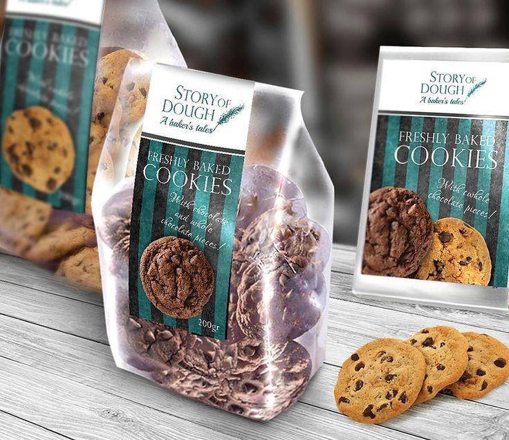 """56 """"Μου αρέσει!"""", 7 σχόλια - ANC (@art_needs_creativity) στο Instagram: """"Branding-Corporate Identity Design and packaging for bakery """"Story of Dough"""".The holistic design…"""""""