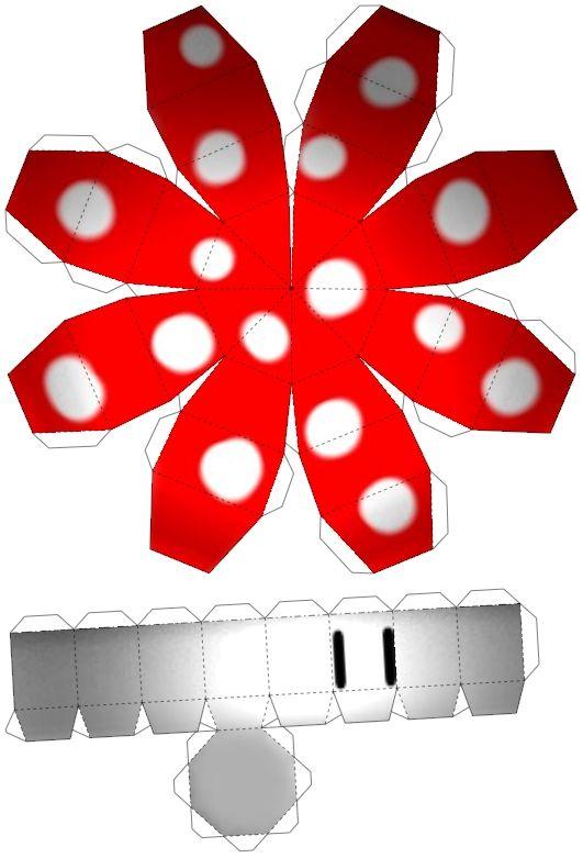 Mario mushroom template #printable & LOTS & LOTS OF other ideas & printables!