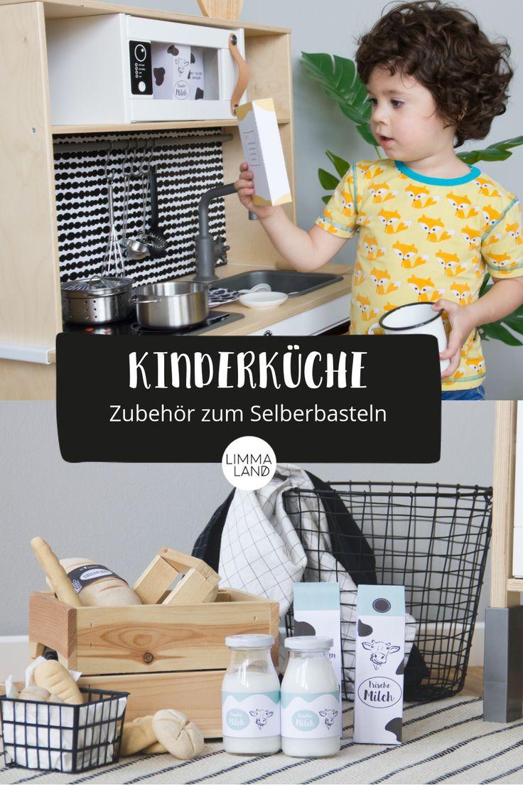 Basteln für die Kinderküche und den Kaufladen! M…