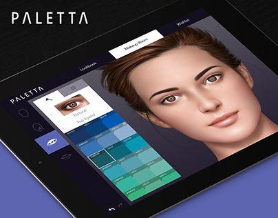 Paletta iPad App, designed by Ryan Brock.