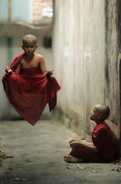 Meditación y levitación!!!