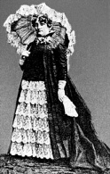 """Meet Mattie Silks, a madam of the red-light district in Denver, Colorado known as """"The Row"""". At just 19 years of age she traveled to Denver & opened her house in 1877. There she met & had a common-law marriage with Mr. Silks. Prohibition combined with presure from City Hall caused Mattie to sell out in 1919."""