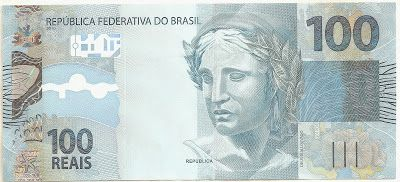 """coins and more: 121) Brazilian Currency: Brazilian Real or """"Real B..."""