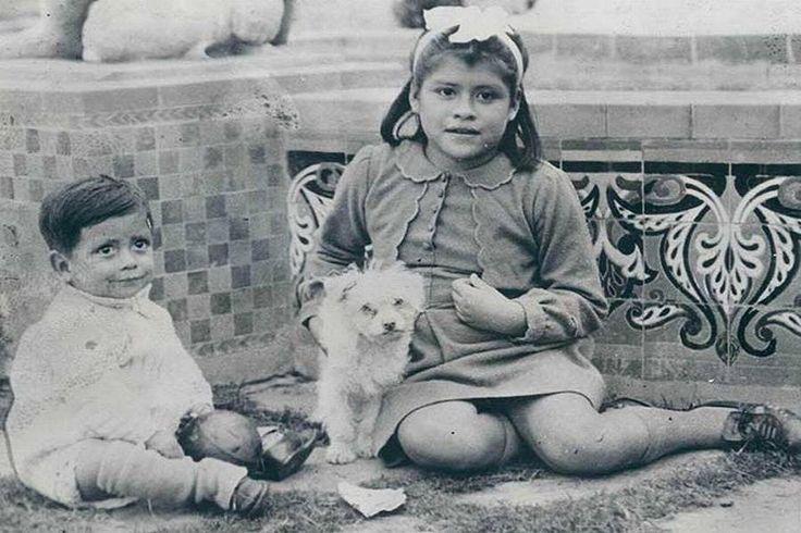 Lina Medina With Dog