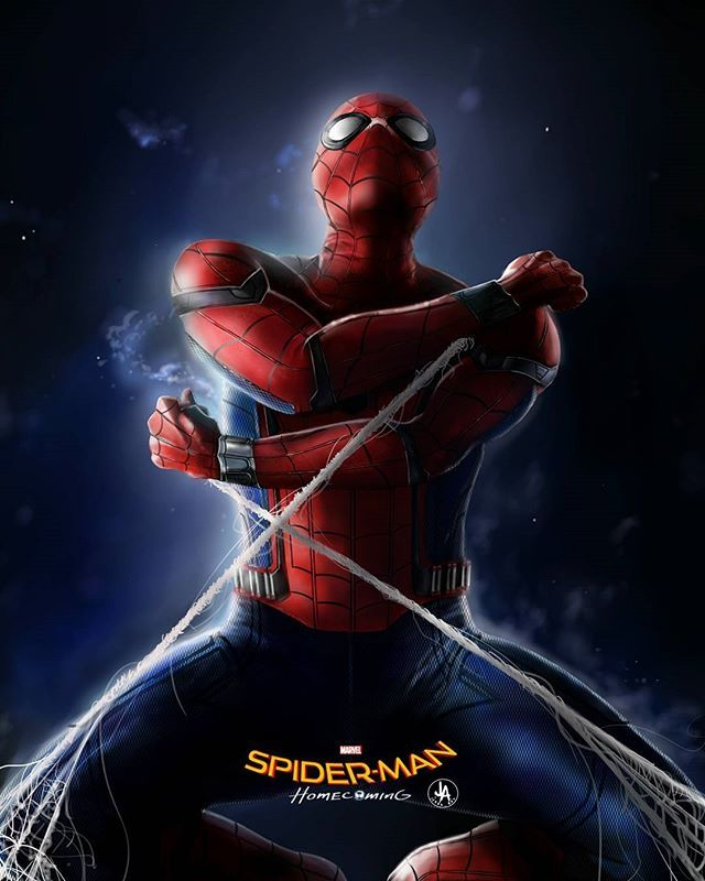 Amazing spider-man homecoming art