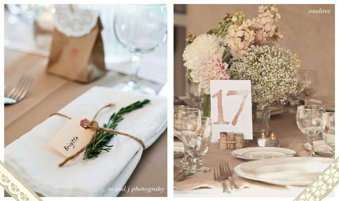17 best images about d co table mariage on pinterest for Deco de table champetre