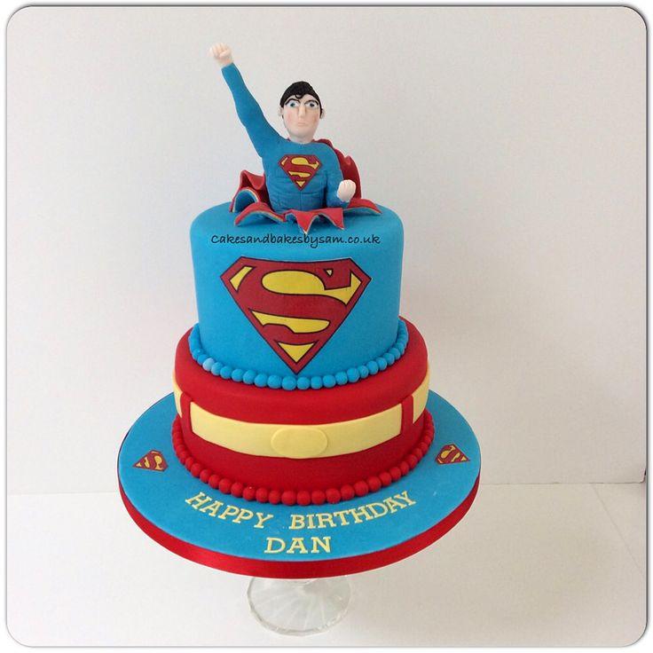 The 25 best Superman birthday cakes ideas on Pinterest Superman