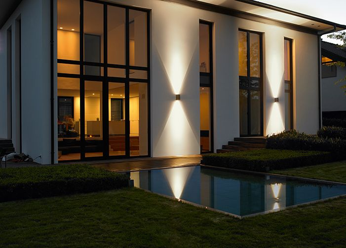 8 best images about building mount lighting on pinterest for Building exterior lighting design