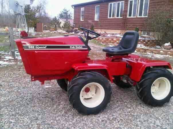 Ih Garden Tractors : Best i h farmall cub cadet images on pinterest