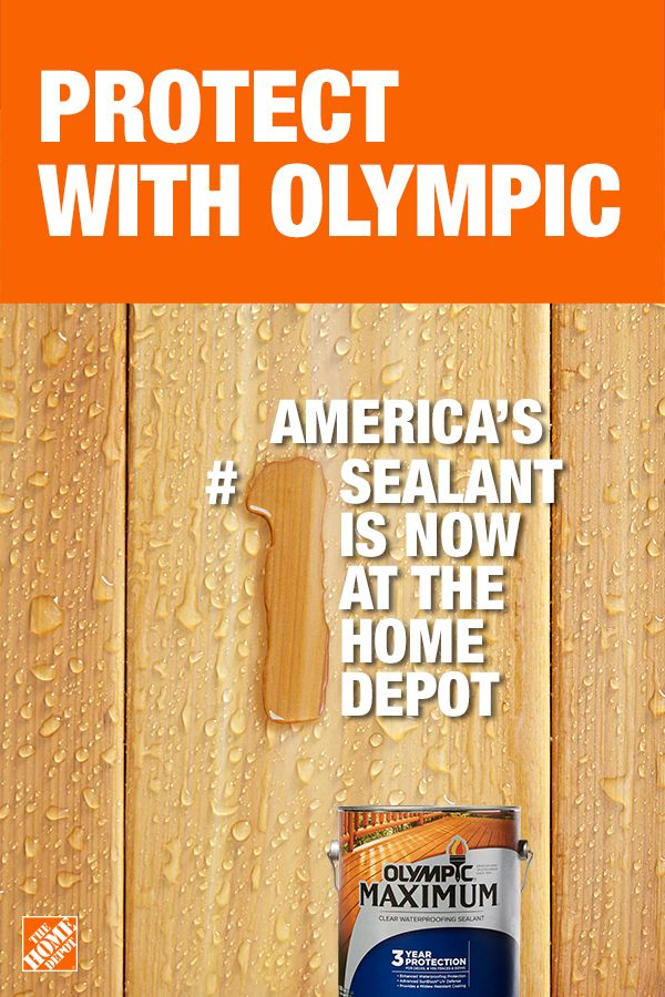 Olympic Maximum 1 Gal Clear Exterior Waterproofing Sealant