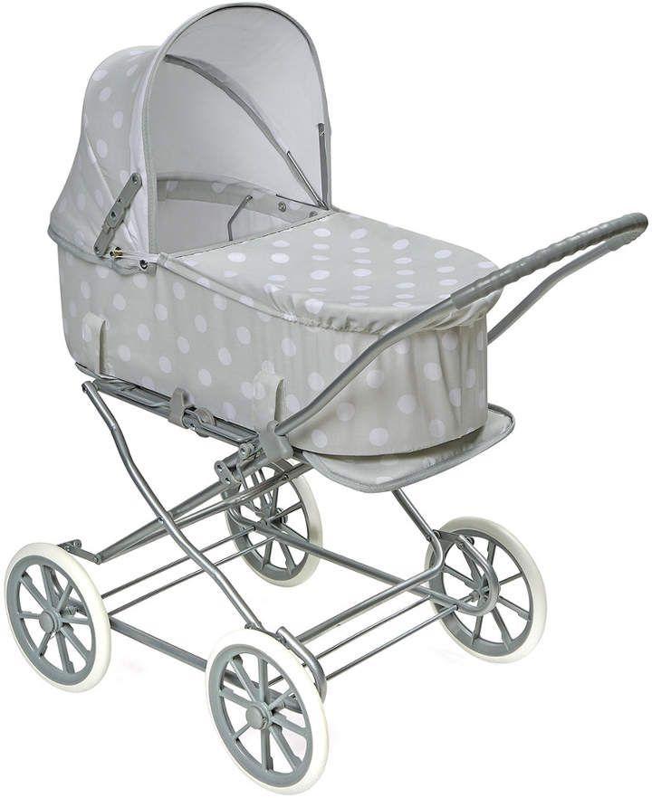 Badger Basket Just Like Mommy 3-In-1 Doll Pram/Carrier/Stroller