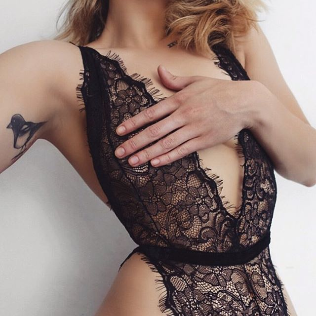 Throwback to this babe @chloehelenmiles in our Harper Bodysuit 😻 This soft lacy piece is forever a favourite #ohsolovelyintimates #harperbodysuit