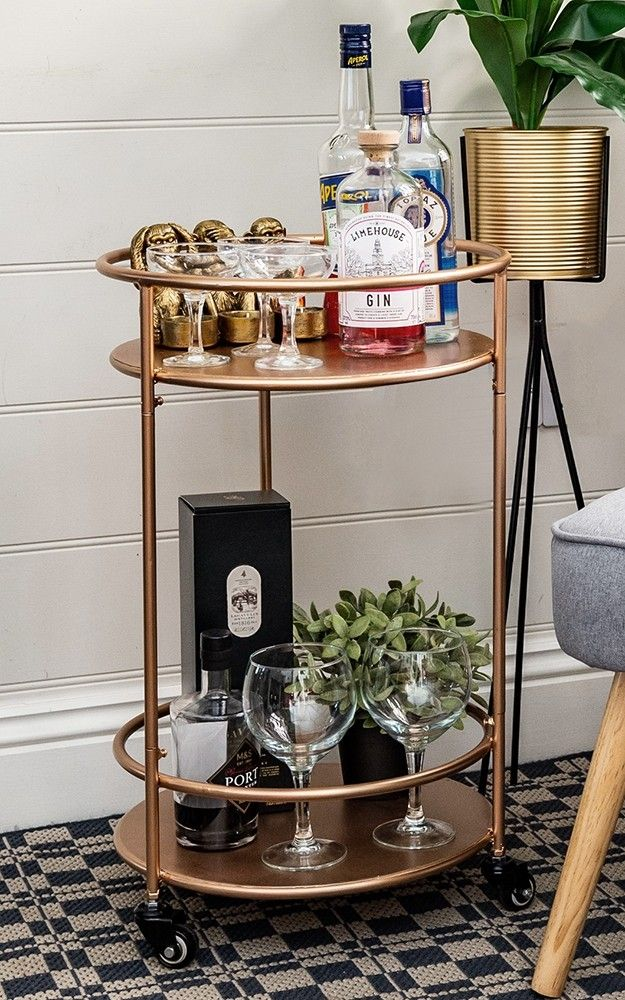 Please Note That This Item Is Currently Available For Pre Order Only For Delivery On The Week Commencing 22nd April 2 Gold Drinks Bar Cart Decor Drinks Trolley