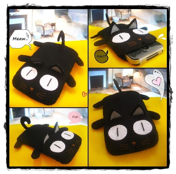 images black cat diy ipad cases - Google Search