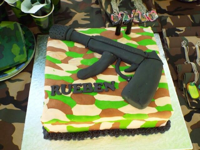 My Army themed cake :-)