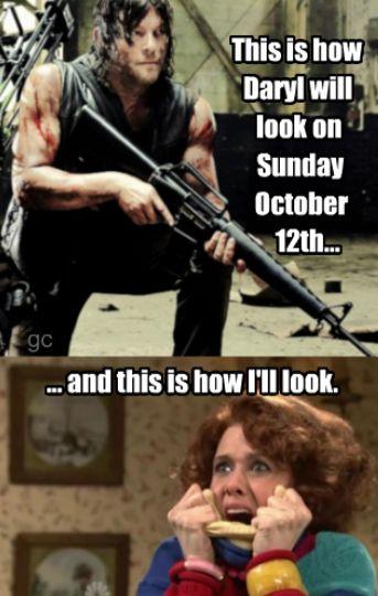 Norman Reedus Daryl Dixon The Walking Dead #gc Season 5