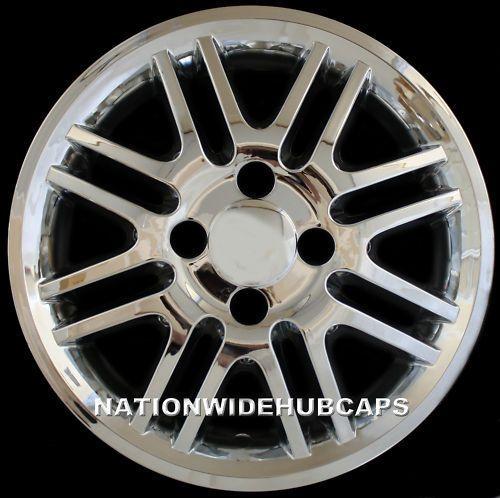 "SETOF4 Focus 15"" Chrome Wheel Skins Hub Caps Rim Covers 4 Lug Alloy Wheels Rims | eBay $59 free ship"
