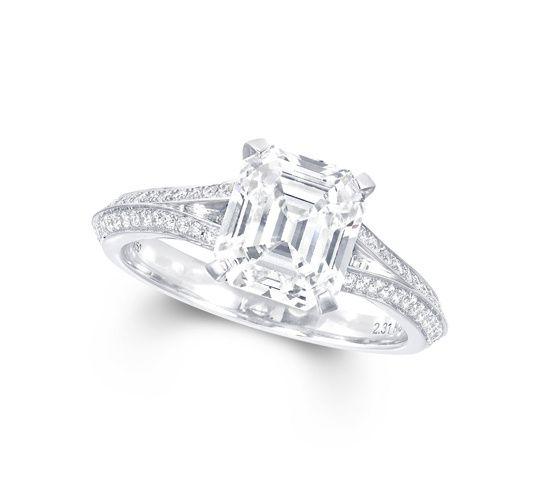 Préférence Les 25 meilleures idées de la catégorie Diamants taille émeraude  AB98