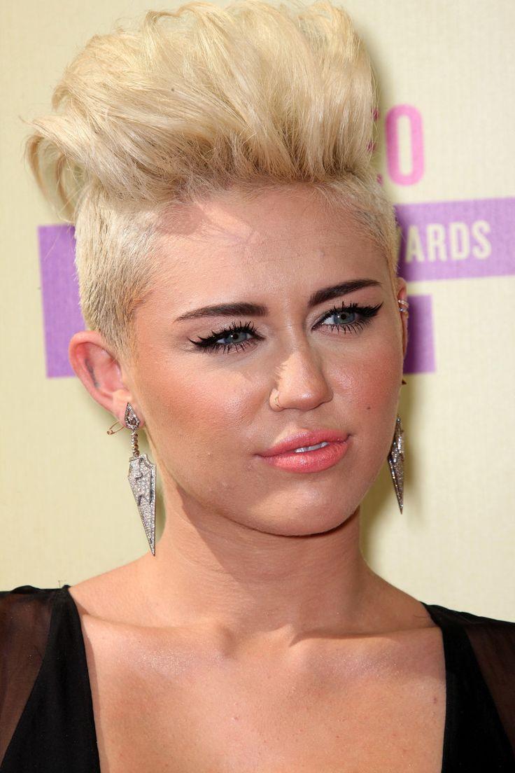 Miley Cyrus at the 2012 MTV Video Music Awards.