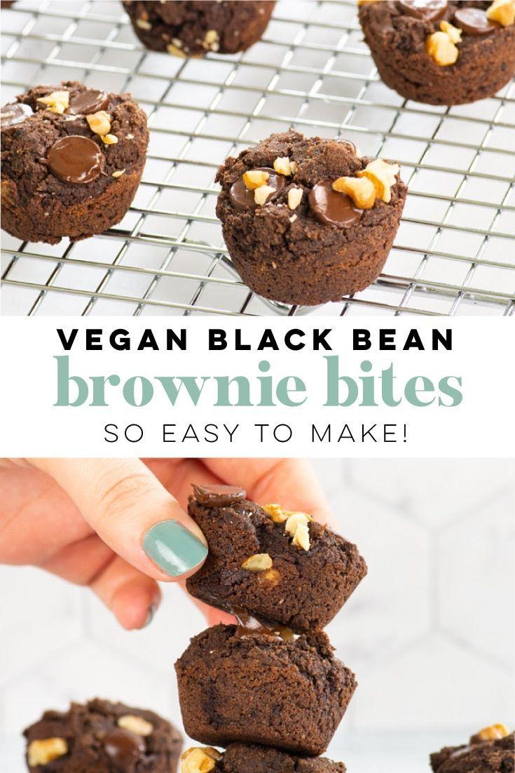 Vegan Black Bean Brownies In 2020 Vegan Chocolate Recipes Vegan Snack Recipes Vegan Baking Recipes