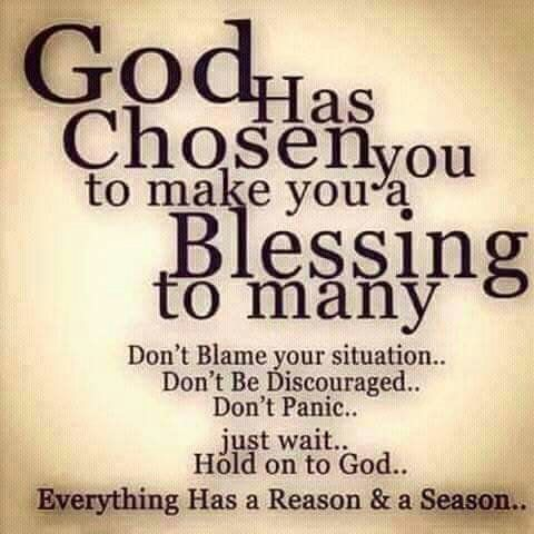 Hey you reading this, God is good. Its not a question but a statement. Whatever your life looks like right now, ignore the emotions. We cannot be swayed by emotions and instead trust God. He got you, when its easy and when its tough. Let him build you! Now go ahead and have a blessed day!