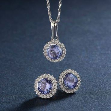 Tanzanite symbolizes contentment and understanding and is the birthstone for the month of December.  Take a look at the beautiful Tanzanite collection from Sterns! http://bit.ly/1v9JgqM