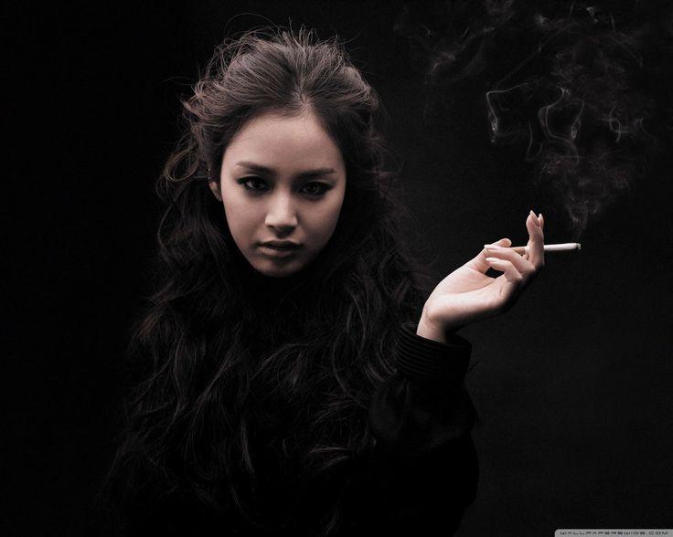 Kim Tae Hee Smoking