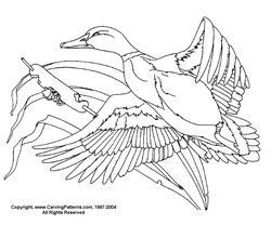 wood burning templates free download - waterfowl pattern package download wood burning