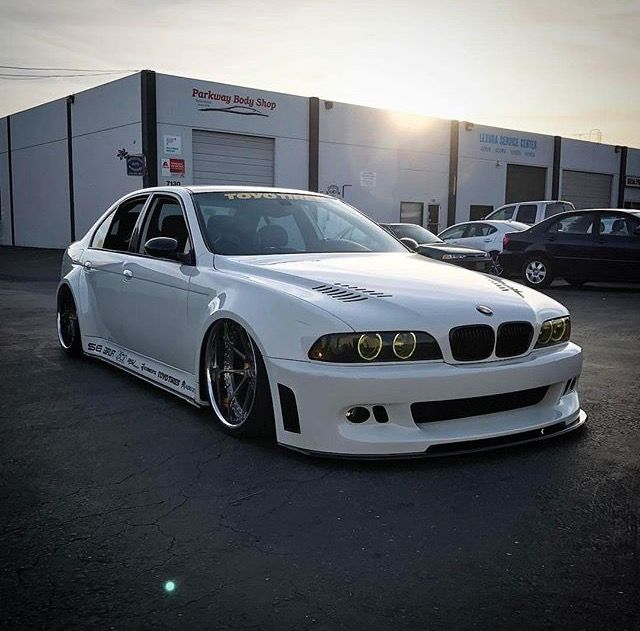 #BMW_E39_M5 #Modified #WideBody #AirLift #Bagged #Slammed #Lowered #RSVForged_Wheels
