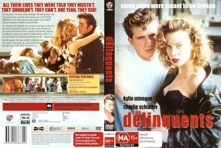 The Delinquents is a 1989 Australian film directed by Chris Thomson. It starred Kylie Minogue and Charlie Schlatter as the main characters Lola and Brownie, and was filmed in Brisbane, Maryborough and Bundaberg, Queensland. The film is based on the BOOK of the same name.