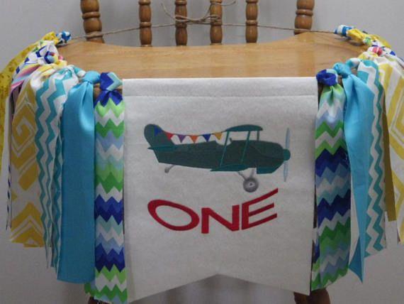 Highchair banner-garland Birthday banner/garland Summer