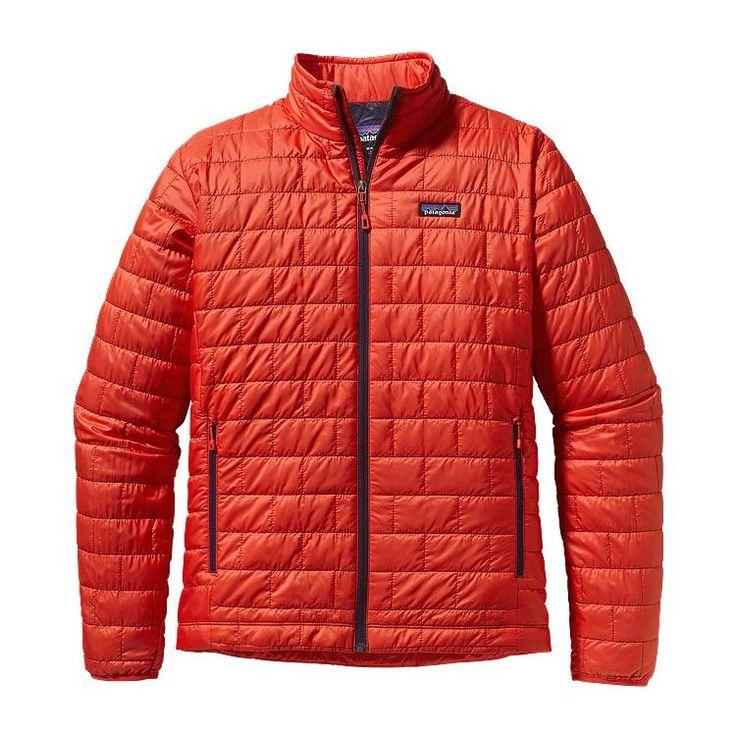 Patagonia Men\'s Nano Puff\u00AE Jacket - Turkish Red THR