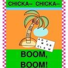 """CHICKA CHICKA BOOM BOOM! - ADD A RHYTHM GAME!  This book by Bill Martin Jr. and John Archambault is too much fun to enjoy sitting still!  Use Rhythm Sticks to 'keep the beat' during a fun LETTER RECOGNITION GAME that you play right after the story!  Colorful Letter Cards are provided.  Follow a strong rhythm pattern, learn a funny rhyme, and put some ""MOVES' in your Story Time!  Easy directions for game play are included.  (9 pages)  Joyful Noises Express TpT!  $"