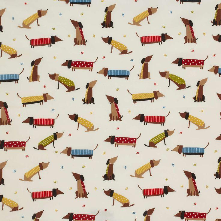 BuyJohn Lewis Saucisson PVC Tablecloth Fabric, Multi Online At Johnlewis.com