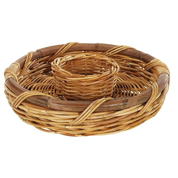 Chip & Dip Serving Basket