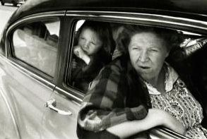 by Robert Frank. Frank is an important figure in American photography and film.