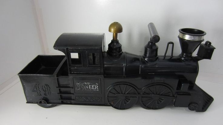 Vintage Marx Pioneer Express Ride On Train Plastic, Horn Toots #Marx