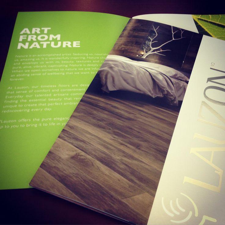 Our brand new 2015 brochure! #interiordesign #hardwoodflooring #Artfromnature