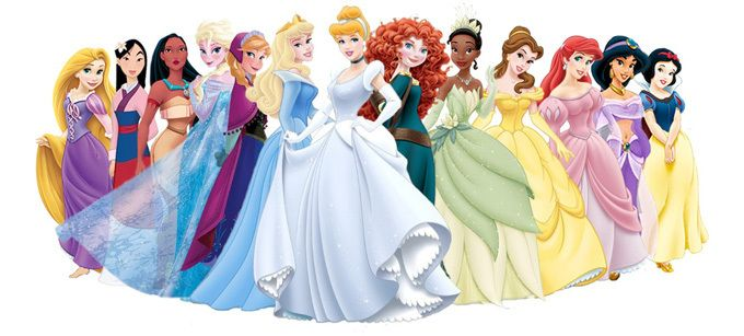 Disney Princess Cross Stitch Pattern                                                                                                                                                     More