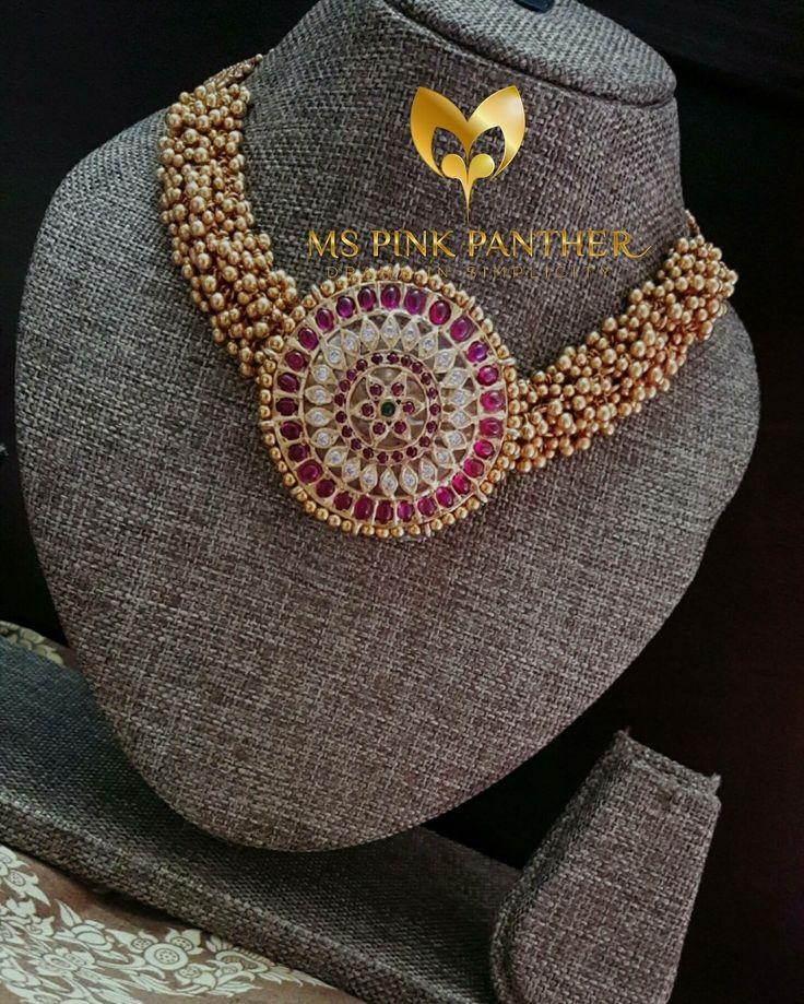 Beautiful choker styled neck piece