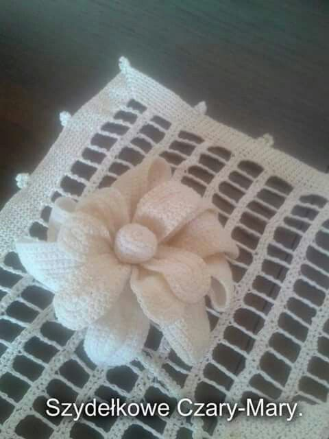 Serwetka # koronka #crochet
