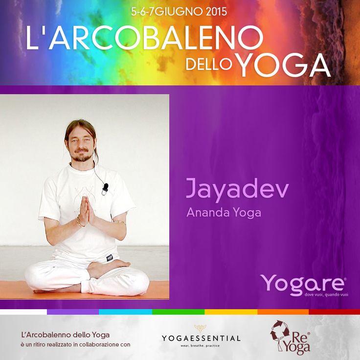 Vieni a conoscere Jayadev! Con la sua lezione di Ananda Yoga inizierà il nostro Ritiro. http://blog.yogare.eu/eventi/